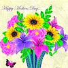 Mothers Day Card with Butterfly
