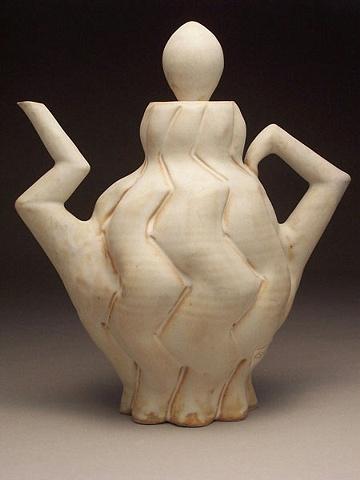 White Tea Pot