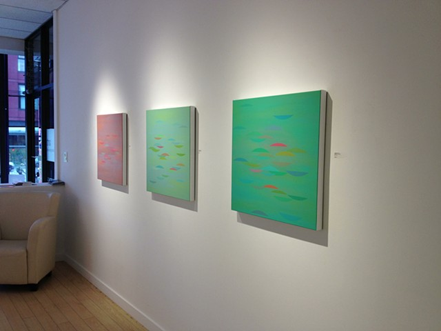Installation view, Cristall Gallery, Vancouver