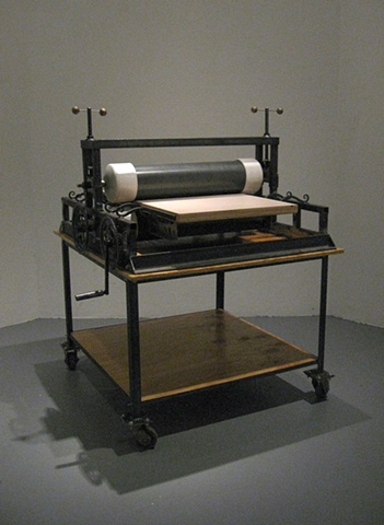 """Etching Press"""