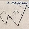"""mountain range and a sea"""