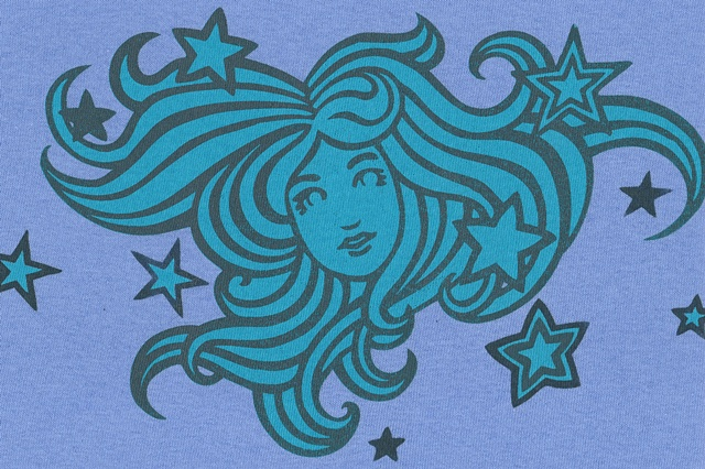 $25.00. I think it is still at Foothill. Tauba Auerbach. Stargazer T-Shirt, Blue. Available at Kaleid Gallery. Two-color silkscreen print on cotton t-shirt.