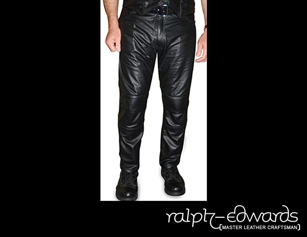 Biker Pant with Custom Designed hinged knee