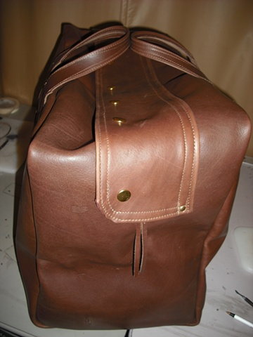 Large Soft Leather Bag