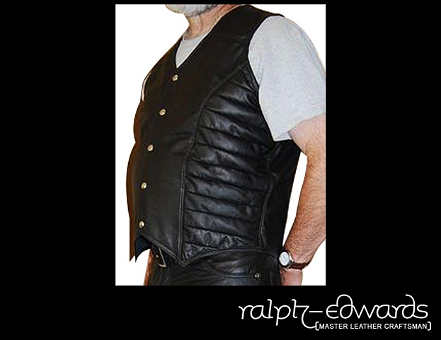 Custom Designed Biker Vest 2X Large