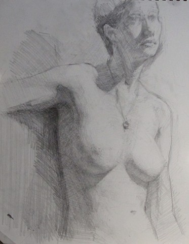 Seated Woman; Torso