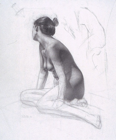Nude with Averted Gaze