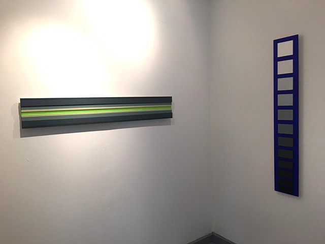 Luminance, installation view (strip lighting and light up)