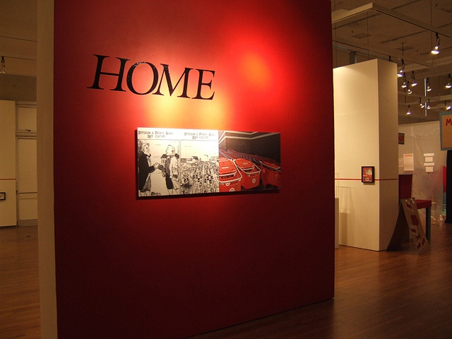 HOME  installation shot