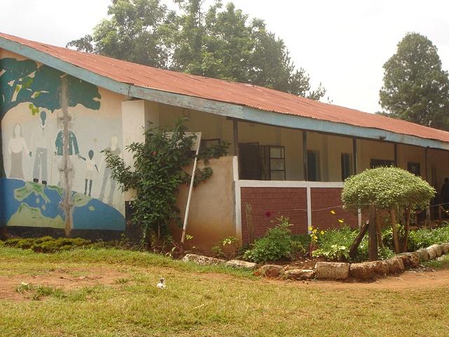 Secondary School + Mural