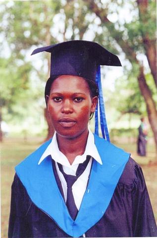 Our First College Graduate - Phellah Adhiambo