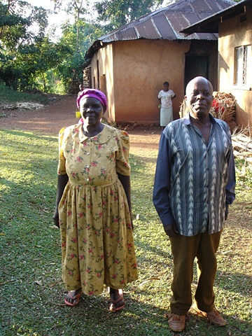 Heather's Host Parents, Saphina + Joshua in 2005