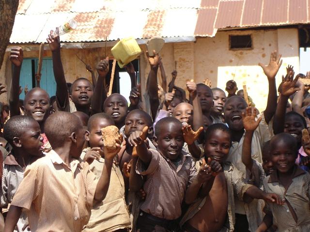 Enthusiastic Primary School Students!