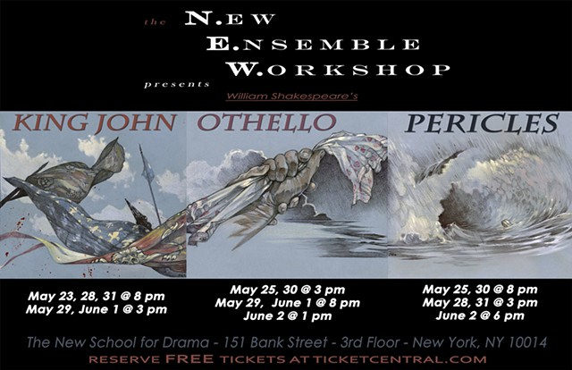 New Ensemble Workshop, Colab 3 Poster