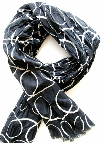 black sugar cotton scarf
