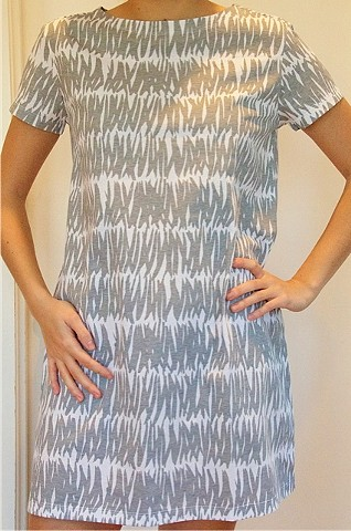 grasses grey knit dress