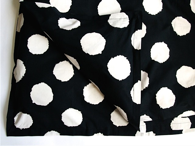 ikat black duvet cover