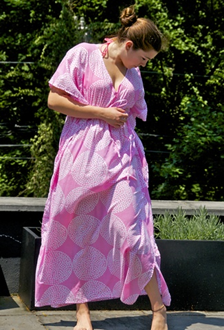 long lilly caftan