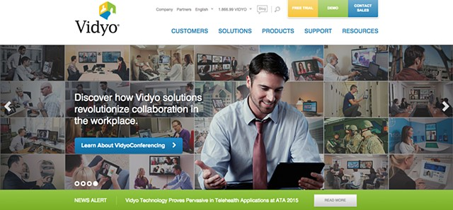 Vidyo Website Banner