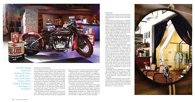 OC Boutiques 2009 harley Davidson and Trovata