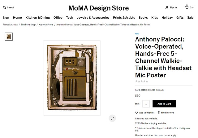 PRINT AVAILABLE AT THE MoMA DESIGN STORE