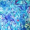 Gift Flowers, Blue