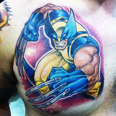 Wolverine Tattoo By Kyiel Cholik Color Crimson Empire Tattoo