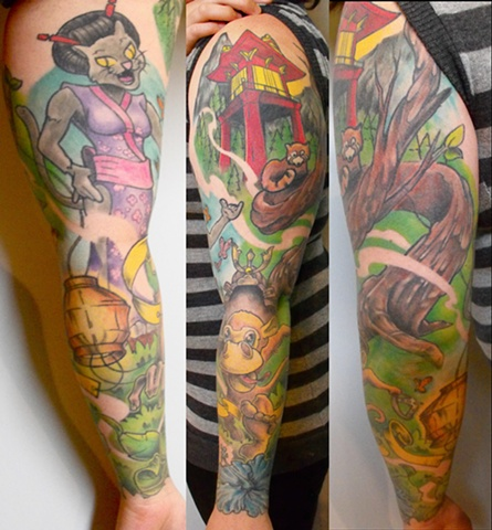 Singing Cat/Monkey Sleeve