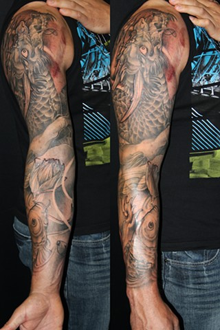 Darcy's Dragon Sleeve