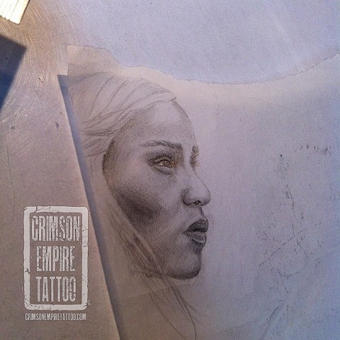 Face sketch by Jessica Doyle. Follow Jessica @jessicadoyle