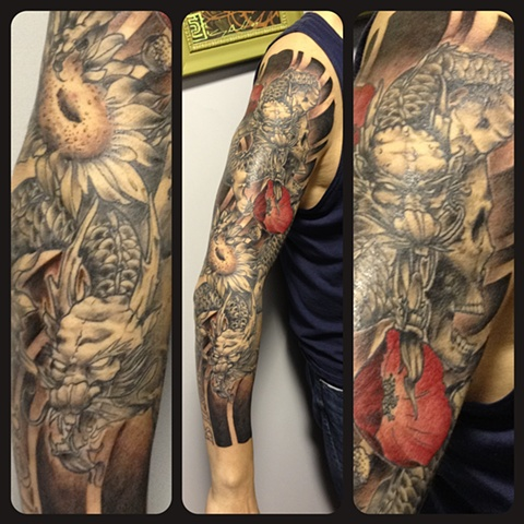 dragons sleeve
