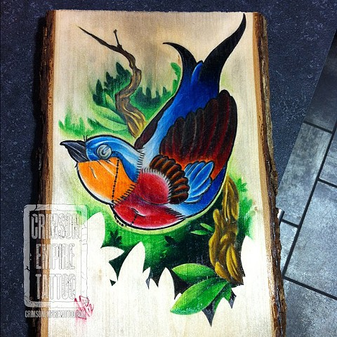 Bird Painting by Jared Phair