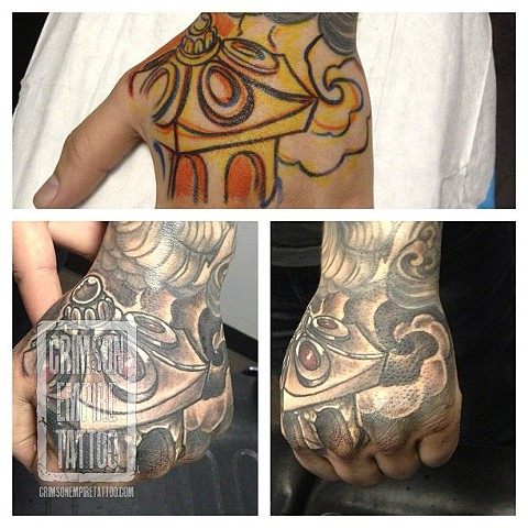Hand tatty by Josh Lamoreux. Follow Josh @joshlamoureux