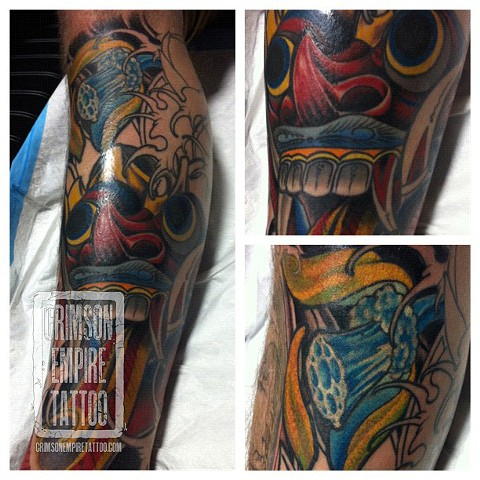 Color Mask Sleeve by Jared Phair