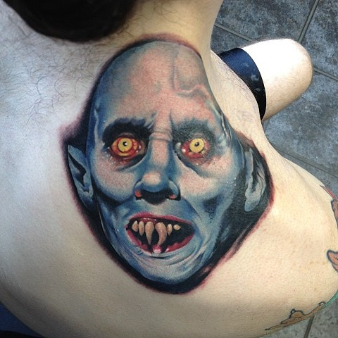 Nosferatu Tattoo By Marshall Khalil Color Crimson Empire Tattoo
