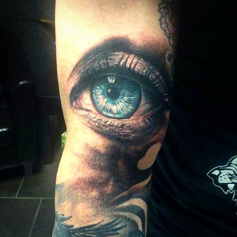 Eye Tattoo By Samantha Storey Color Crimson Empire Tattoo