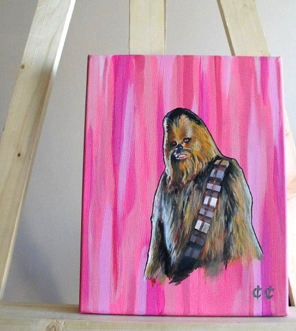 Chewie Painting