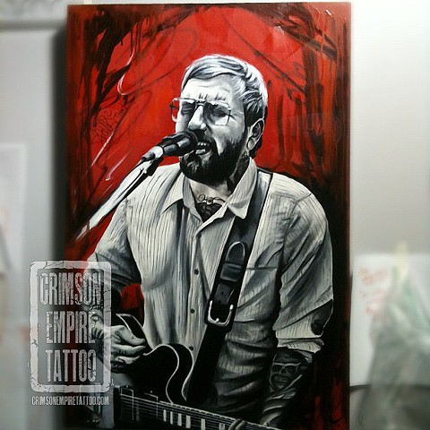 Dallas green painting by Josh Lamoureux
