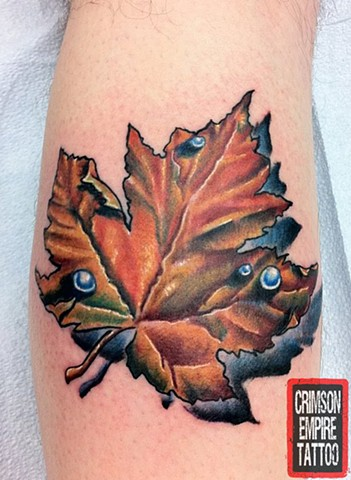 Maple Leaf - Crimson Empire Tattoo