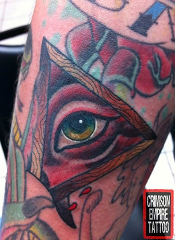 Eye Tattoo - Crimson Empire Tattoo