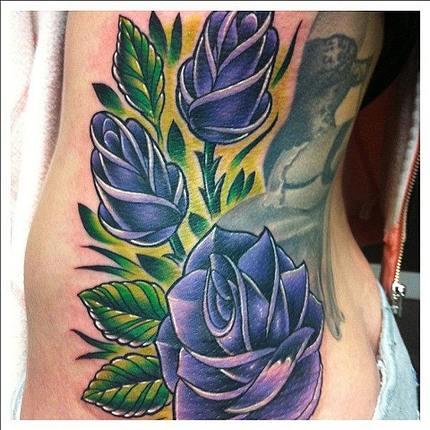 Roses Tattoo By Kyiel Cholik Color Crimson Empire Tattoo