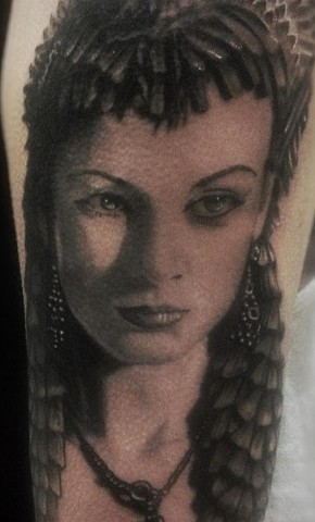 Portrait Tattoo By Alan Coates Black And Grey Black Gold Tattoo Co