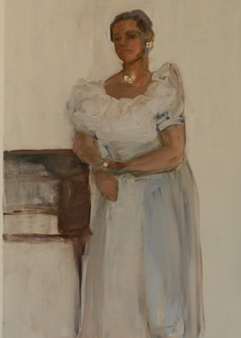 The Debutante [Private Collection, Ithaca New York]