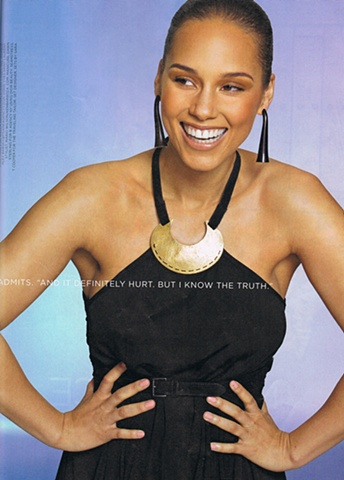 Alicia Keys in Essence Magazine