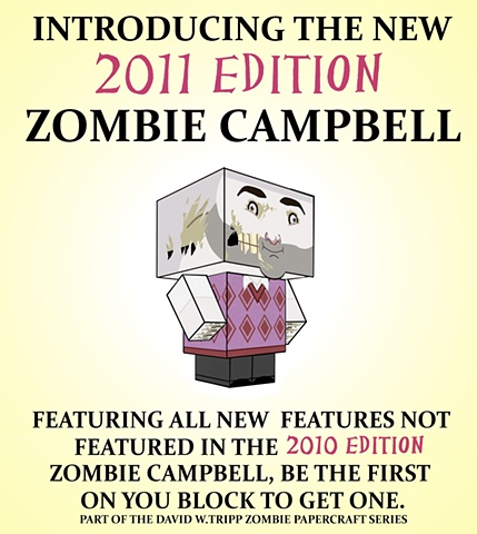 2011 Edition Zombie Campbell Poster