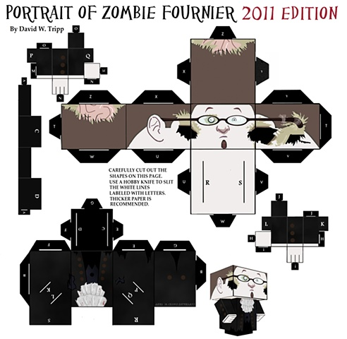 Portrait Of Zombie Fournier