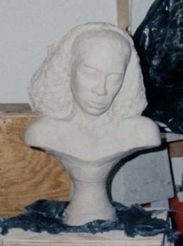 Clay Bust
