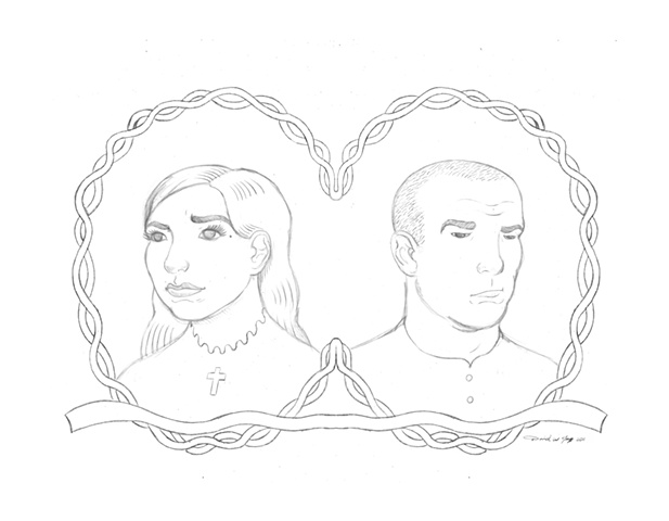 Wedding Invite Final Sketch