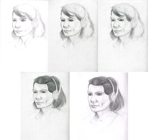 A week of Angelica (portraits)