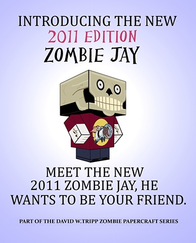 Zombie Jay Poster
